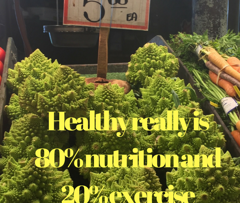 Good Nutrition doesn't come naturally any more